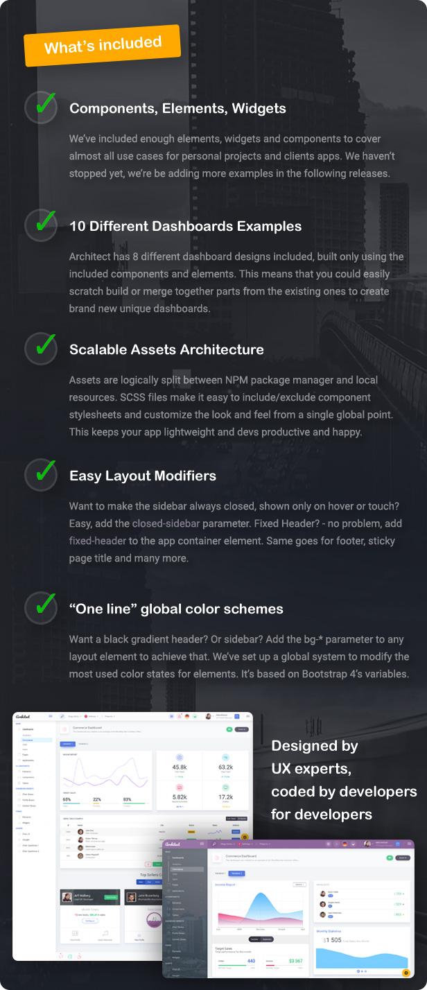 ArchitectUI - HTML & ReactJS Bootstrap 4 Admin UI Dashboard Template - 3
